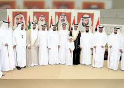 Saif bin Zayed, Sheikhs attend wedding