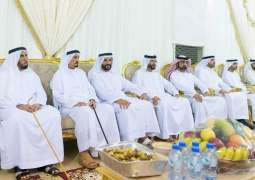 Ajman Ruler offers condolences to Lekhraibani Al Nuaimi family