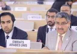 الإمارات تطالب بتنفيذ القرارات الأممية التي تدعو إسرائيل للتوقف عن الأنشطة الاستيطانية