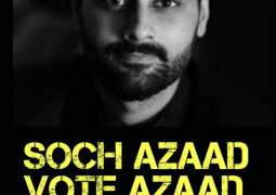 Celebs support independent candidate Jibran Nasir with 'Hum mein se #Aik'