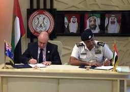 Abu Dhabi Police, Australian Federal Police sign MoU
