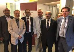 Sardar Masood Khan raises Kashmir issue at the Canadian International Council; condemns Indian terrorism in IOK; proposes setting up of peace table