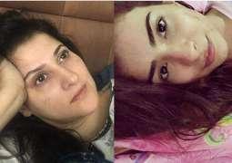 Sahiba, Dua Malik take up Nadia Hussain's woke up this way challenge