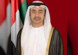 Abdullah bin Zayed meets with GCC Secretary-General