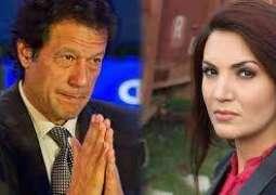 عمران خان نوں میں برہنہ کُڑیاں دیاں تصویراں ویکھدے آپ موقعے تے پھڑیا:ریحام خان دا الزام