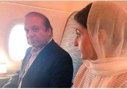 Nawaz Sharif sends video message to Pakistanis from plane