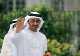 Abdullah bin Zayed receives South African Foreign Minister