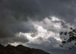 Cloudy weather predicted for Khyber Pakhtunkhwa