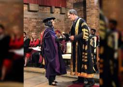UAE Permanent Representative to IRENA receives honorary doctorate from Keele University