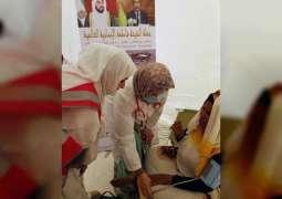 حملة الشيخة فاطمة الإنسانية تبدأ مهامها في القرى الموريتانية