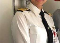 PIA's Captain Mariam continues to fly the plane smoothly