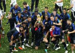 UAE leaders congratulate French President on his country's win of World FIFA Cup 2018
