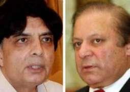 سابق وزیر اعظم نواز شریف نے پرویز رشید نوں چودھری نثار خلاف اہم ٹاسک دے دتا