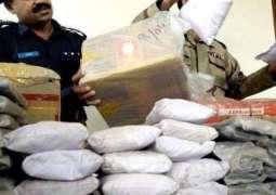Anti Narcotics Force seizes 812kg drugs, arrests 25