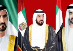 UAE leaders congratulate Colombian President on Independence Day
