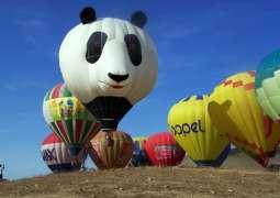 UAE, China Hot Air Balloon teams cooperate