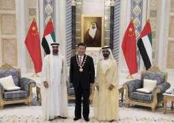 Mohammed bin Rashid, Mohamed bin Zayed discuss strategic ties with President Xi    - UPDATE