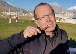 In another act winning Pakistan over, German Ambassador uses Miswak to brush teeth