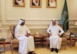 وزير الخارجية يستقبل السفير الإماراتي لدى المملكة