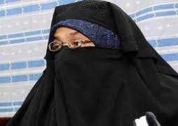 وکالة الاستخبارات الوطنیة الھندیة NIAتشنّ علی منزل آسیہ اندرابي فی سرینغر