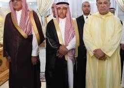 أمين منطقة الرياض يحضر حفل السفارة المغربية بمناسبة اليوم الوطني