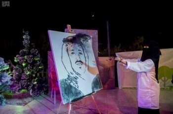 أمير الباحة يتفقد قرية ترف رغدان السياحية