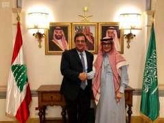القائم بأعمال سفارة المملكة في لبنان يستقبل السفير الفرنسي في بيروت