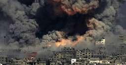 شهيدان في قصف الاحتلال الاسرائيلي شرق غزة اليوم