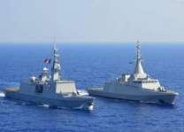 البحرية المصرية تنفذ تدريبات بالبحرين الأحمر والمتوسط مع قوات بريطانية وفرنسية