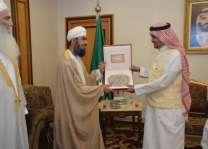 وزير الحج والعمرة يلتقي رئيس مكتب شؤون حجاج سلطنة عمان