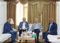 سفير الدولة يلتقي أعضاء لجنة الاخوة الأردنية الإماراتية بمجلس الأعيان
