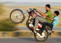 10 wheelies held from Multan