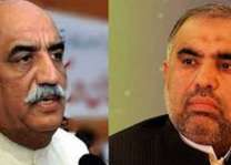 A cut-throat competition expected between Khursheed Shah, Asad Qaiser for NA speaker slot