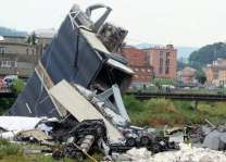 Mayor's Office of Italy's Genoa Declares 2 Days of Mourning After Bridge Collapse