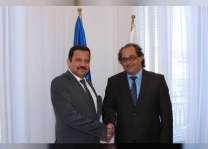 سفير الدولة لدى بولندا يبحث التعاون في مجال الاقتصاد البحري