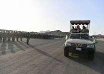 وزير الحرس الوطني يتفقد قوات ومقرات الحرس الوطني في المشاعر المقدسة لخدمة ضيوف الرحمن