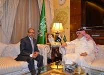 سفير المملكة لدى باكستان يلتقي السفير اليمني