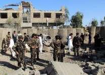 ھجوم حرکة الطالبان علي مرکز القوات في أفغانستان