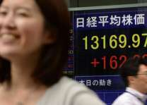 Tokyo's Nikkei index trims early losses to end flat on 16 aug 2018