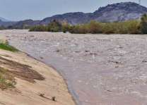 المناظر الطبيعية على ضفاف وادي نجران تجذب الأهالي والزوّار