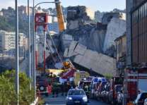 Search for survivors as anger mounts over Italy bridge collapse