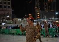 وزارة الدفاع ممثلة بالقوات البرية تشارك بقوة واجب لخدمة حجاج بيت الله الحرام
