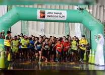 """""""أبوظبي الرياضي"""" ينظم سباق """" ياس مول - عالم فيراري"""" المجتمعي للجري"""