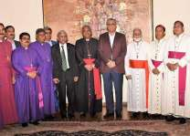 COAS hosts banquet dinner in honour of leading Christian clergy
