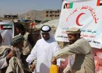 ERC distributes food parcels in Ghayl Bin Yamin, Yemen