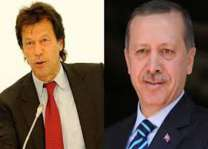 Erdogan felicitates Imran Khan, wishes success