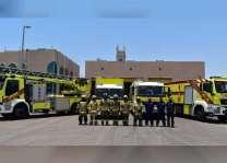 """""""دفاع مدني أبوظبي """" يحث الجمهور على اتباع اشتراطات السلامة في العيد"""