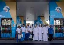 شرطة ابوظبي تكرم عددا من العاملين فى يوم العمل الإنساني