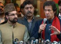 Hurriyat leaders congratulate Imran Khan