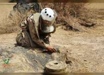 Thousands of mines cleared by MASAM in Marib, Saada, Yemen